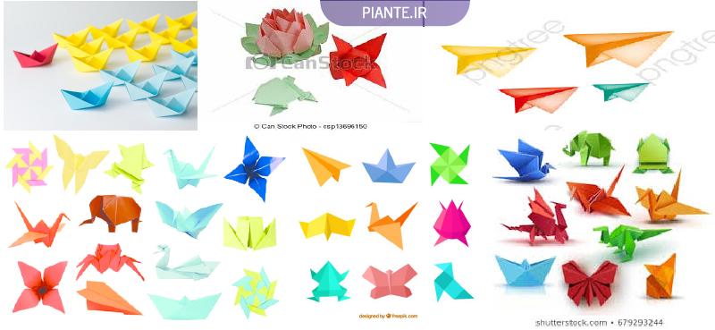 کاردستی کاغذی اوریگامی