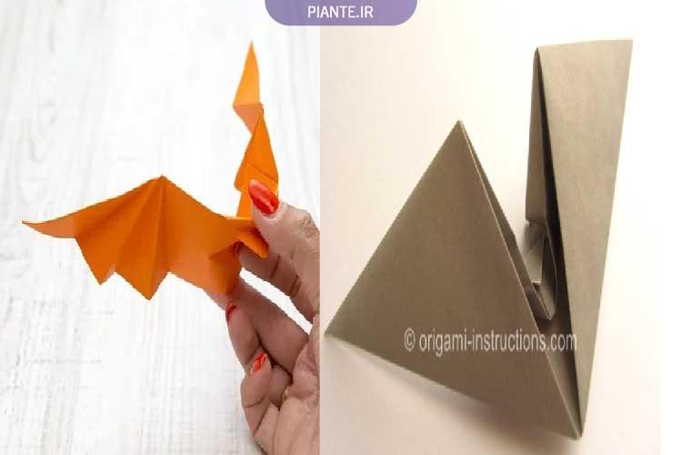 اوریگامی خفاش متحرک