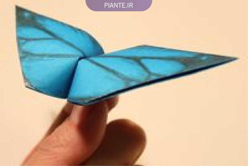 آموزش ساخت کاردستی پروانه با کاغذرنگی