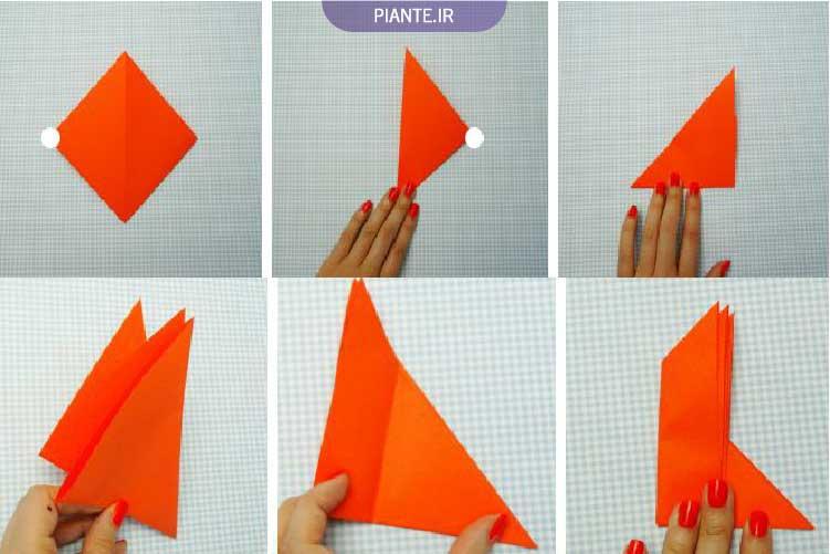 اوریگامی ساده حیوانات برای کودکان
