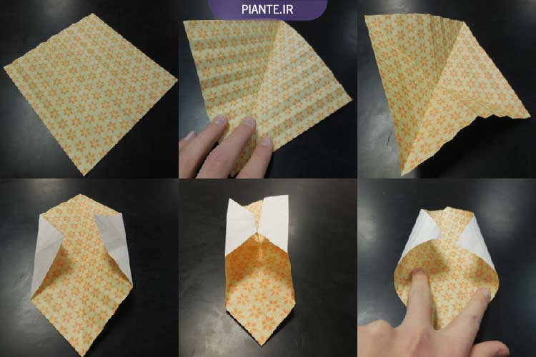 اوریگامی توپ سه بعدی بادی جادویی