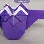 اوریگامی جغد ساده جدید