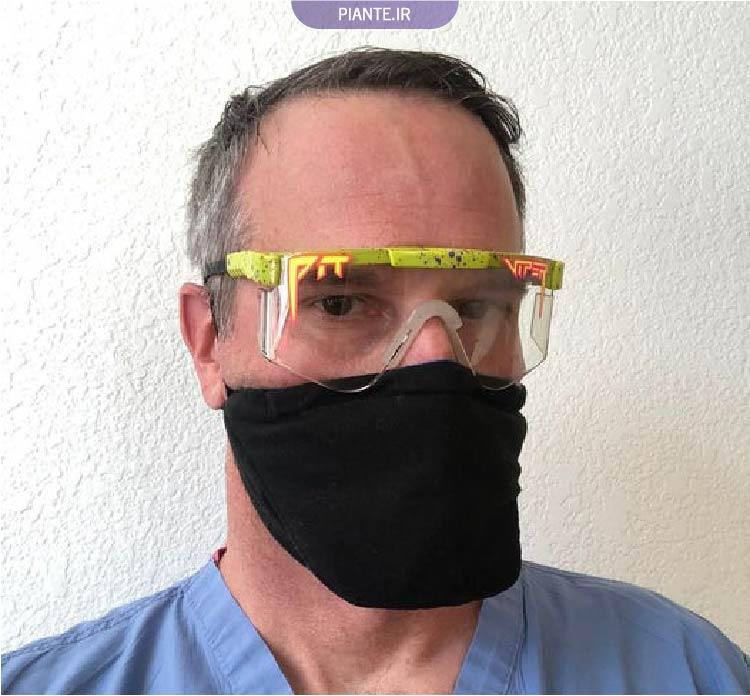 ماسک تنفسی فیلتر دار
