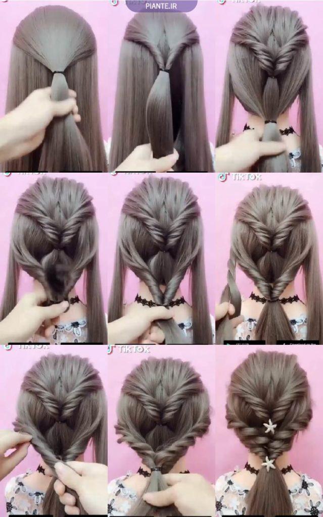 مو دخترانه ساده و شیک
