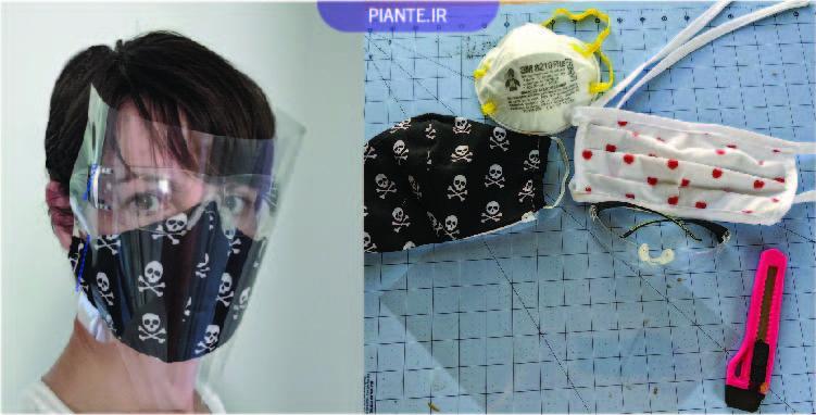 شیلد و ماسک محافظ صورت