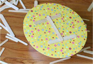 ساخت انواع بازی برای کودکان با چوب بستنی