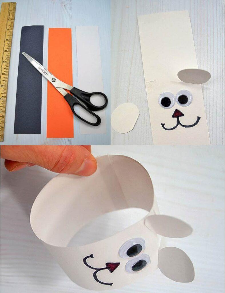 کاردستی کودک با کاغذ رنگی